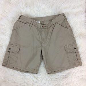 Carhartt Shorts - Carhartt Tan Shorts WB164 Outdoor Hiking Sz 10